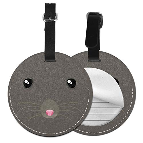 Luggage Tags Rat Suitcase Luggage Tags Business Card Holder Travel ID Bag Tag