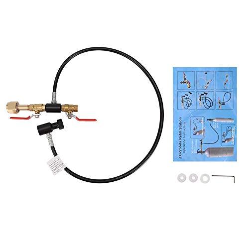 CO2-Flaschen-Nachfülladapter, Tankadapter CO2-Tankzylinder Nachfüllstation Fülladapter-Werkzeug(36in G1/2(CGA320)