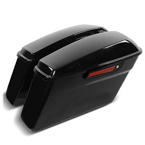 Seitenkoffer für Harley Davidson Street Glide (FLHX) 14-21 Black Latch