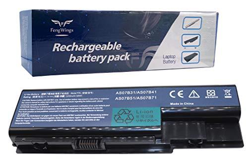 FengWings® 5200mAh AS07B31 AS07B41 AS07B51 AS07B61 Batería para Acer Aspire 5710 5715 5910 5920 5935 7220 7520 7710 7720 7730 8730 8920 Packard Bell EasyNote LJ61 LJ63 LJ65 LJ67 LJ71 LJ73 LJ75 LJ77