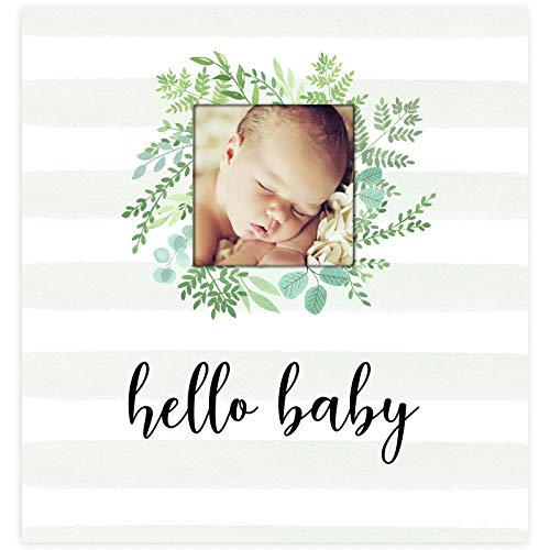 Baby Memory Book for Modern Families - Gender Neutral Journal for Baby's First 5 Years - Album to Record milestones for Baby boy or Girl - Photo Keepsake with Gift Box