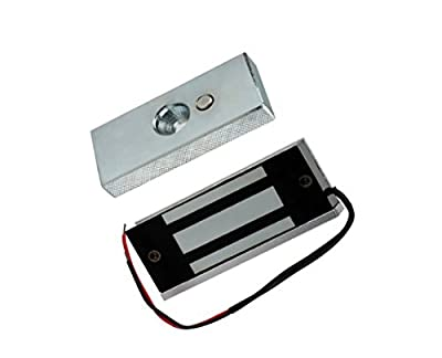 OBO HANDS 60KG (132lbs) 12V Access Control Electric Magnetic Door Lock Electric Lock