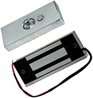 OBO HANDS 60KG (132lbs) 12V Control de Acceso Eléctrico Cerradura Magnética de la Puerta Cerradura Eléctrica