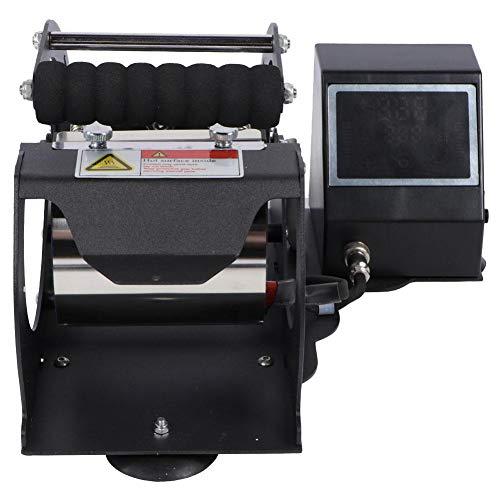 Impresora digital Equipo de prensa en caliente, pantalla táctil LED Pantalla digital Máquina de prensa de calor Máquina de transferencia por sublimación de taza(#1)