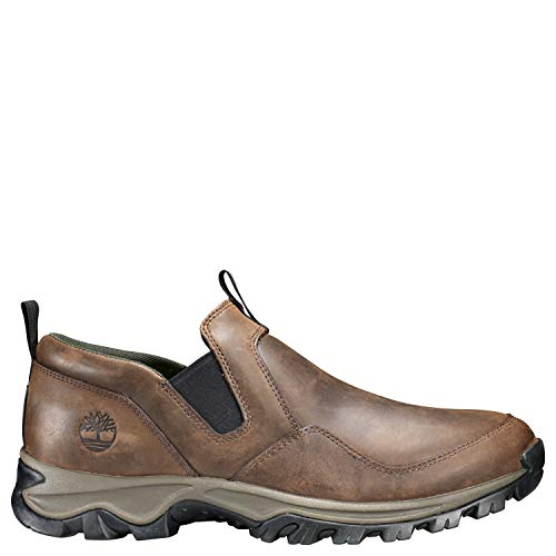 Timberland Men's Mt. Maddsen Slip On Hiking Shoe, Dark Brown, 11 Medium US