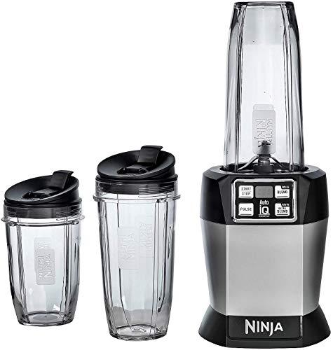 Ninja BL482 Nutri Blender with Auto iQ, Black