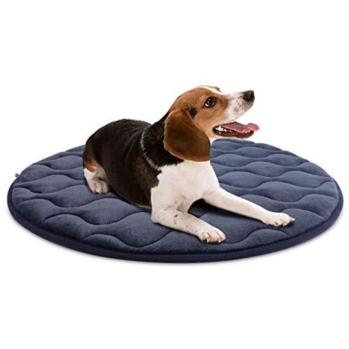 Hondenmatras, wasbaar, middelgroot, 31 cm, antislip, molton kussen voor huisdieren 120X120CM(47