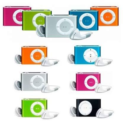 Lote de 20 MP3 Player + Auriculares + Cable USB en Caja de Regalo - Detalles para Bodas, Bautizos, Comuniones y Cumpleaños