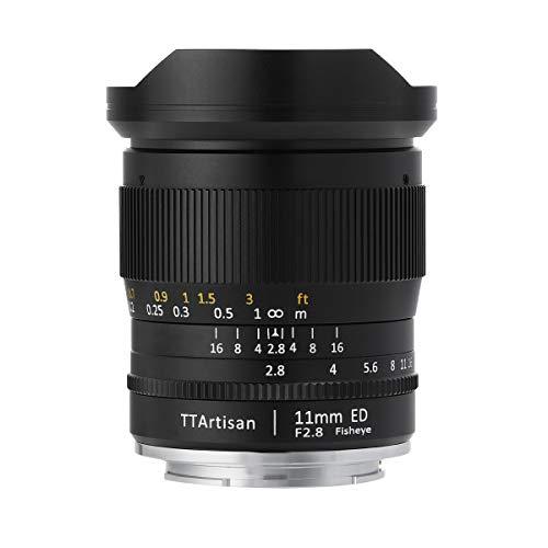 【国内正規品】銘匠光学 TTArtisan 11mm f/2.8 Fisheye ED (ライカL(バヨネット), ブラック) 「2年保証付」