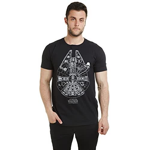 Star Wars Millenium Lines Camiseta para Hombre