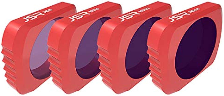 OUYAWEI Optional Camera Lens Filter Kit Set for DJI OSMO Pocket Lens Accessories for DJI OSMO Pocket UV CPL ND4 8 16 32 64 Star Filter(4in1)