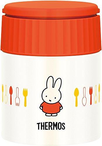 サーモス 真空断熱スープジャー 300ml ミッフィー オレンジ JBQ-300B OR