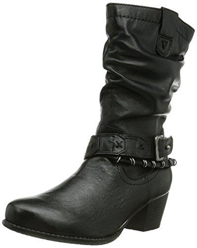 Jana 25354, Boots femme, Noir, 38