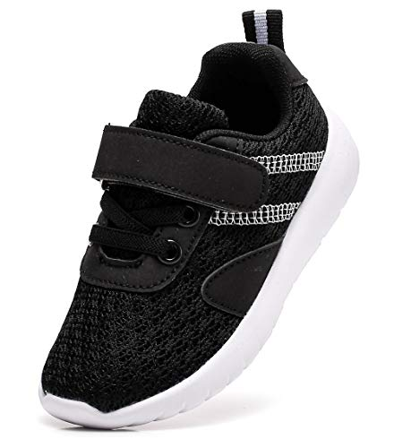 Dadawen Baby Boys Girls Lightweight Breathable Strap Sneakers