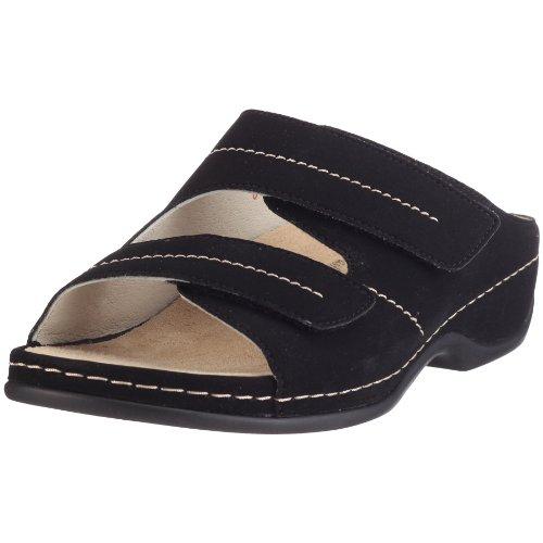Berkemann Damen Fedora (Washable) Pantoletten, Schwarz (schwarz 015), 38 EU
