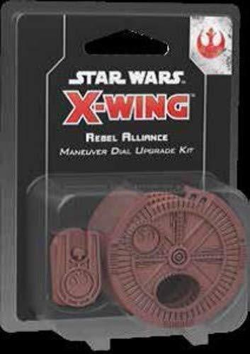 Star Wars FFGSWZ09 X-Wing: Rebel Alliance Manöver Dial Upgrade-Kit, Mehrfarbig