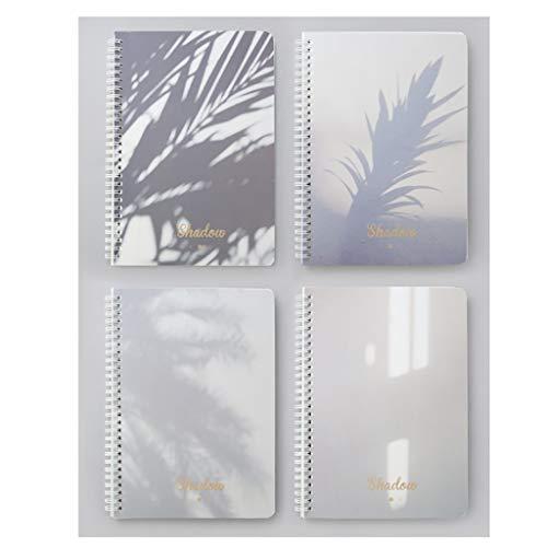 KYAM Libreta Cuaderno Agenda Cuadernos de Lindo B5 Espiral Diario Bound Grueso del Papel de Escribir Línea Horizontal Escuela Casa y Estudiantes universitarios Diarios para Escribir (Color : 5)