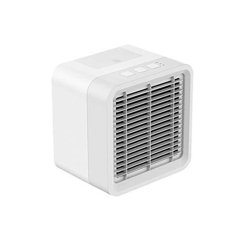 Yissma 3-in-1 mini-airconditioning, mobiele airconditioner, auto-airconditioning, luchtbevochtiger met 3 snelheden, voor slaapkamer, woonkamer, kantoor
