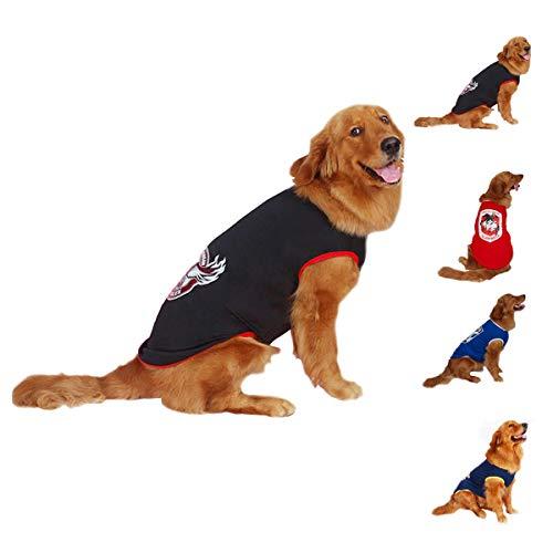 ドッグウェア 大型犬 コート パーカー 薄手 犬服 脱毛ベスト 中型犬 tシャツ 弾力がよい 通気性 おしゃれ ホームウェア スポーツウェア XL-7XL ハッピークレードル
