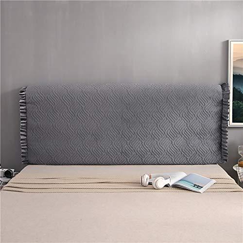 YZJJ Bettkopfteil Schonbezüge Staubdicht Einfarbig Bettkopfteile Nachttisch Schlafzimmer Dekorative Protektoren