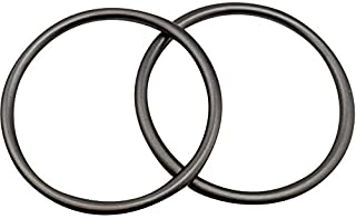 Sling Rings 3-inch Diameter by Cutie Carry. Infant Approved, mom Loved. Aluminum, lab Tested for Strength and Safety. Works with Your own Material or Convert wrap to Sling. (Dark Grey)