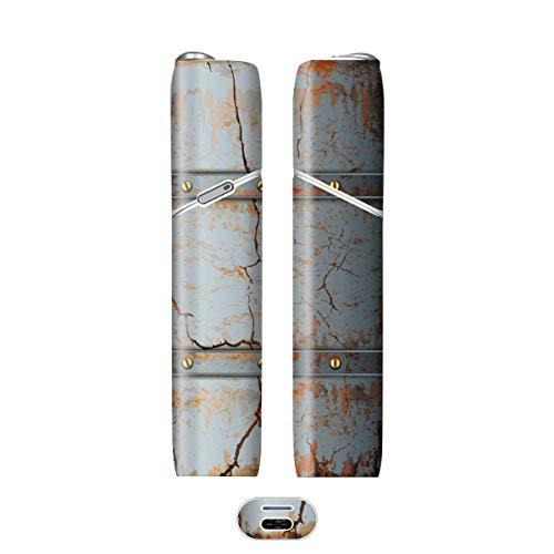 電子たばこ タバコ 煙草 喫煙具 専用スキンシール 対応機種 iQOS 3 MULTI アイコス 3 マルチ Metal (メタル) イメージデザイン 05 Metal (メタル) 01-iq07-0045