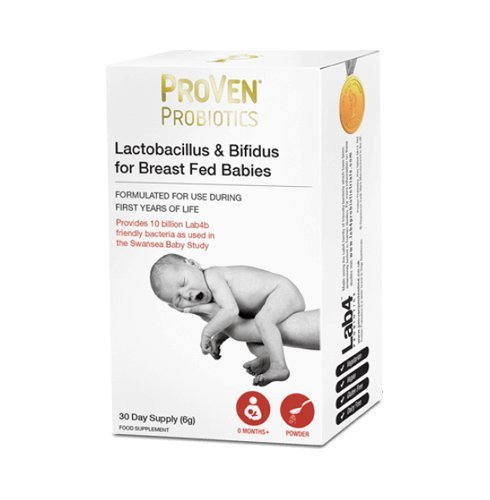 Proven Probiotics Lactobacillus & Bifidus for Breast Fed Babies - Full of Lab4 Friendly Bacteria