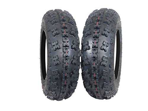 New MASSFX ATV Sport Quad Tires 21X7-10 20X10-9 6 Ply Dual Compound Front Rear For Yamaha Raptor Banshee Honda 400ex 450r 660 700 400 450 350 250 (Two Front 21x7-10 6 ply)