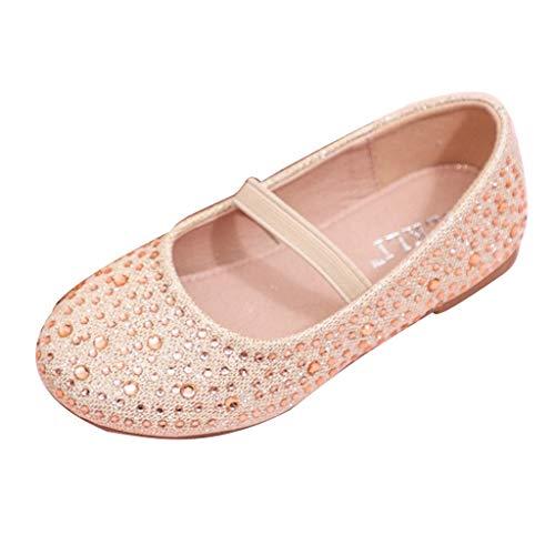 Zapatos de Bailarina con Lentejuelas Brillantes para niñas y niños, con Suela Suave y Lisa, para Fiestas, Ocasiones Especiales, Zapatos Informales de Princesa, otoño, Verano, por LILICAT