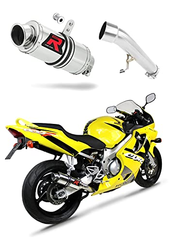 CBR 600 F4 Escape Moto Deportivo GP I Silenciador Dominator Exhaust Racing...