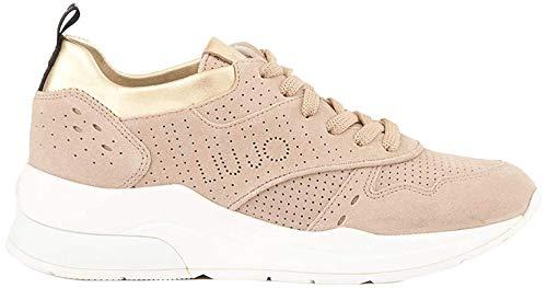 Liu Jo Karlie 14-Sneaker Peach, Zapatillas para Mujer