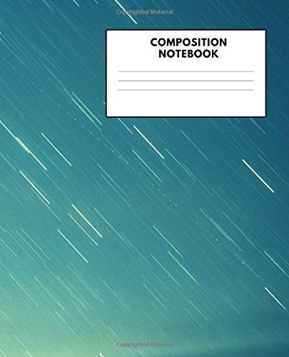 Composition Notebook: Blank Sketchbook to Draw Doodle or Sketch, Workbook Gift for Kids Teens 7.5