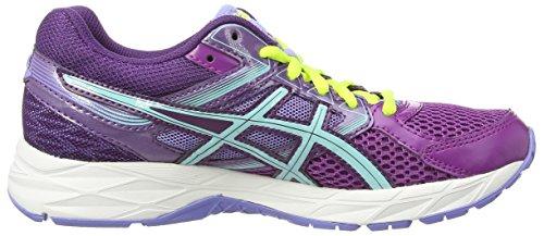 Asics Gel-Contend 3, Zapatillas de Running para Mujer, Morado Grape Aqua Splash Lavender 3667, 37.5 EU