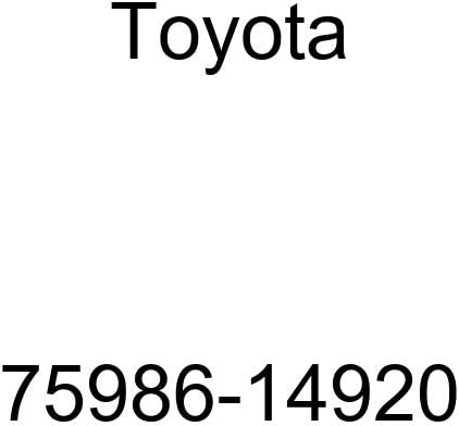 Max 88% OFF Toyota Courier shipping free 75986-14920 Door Stripe