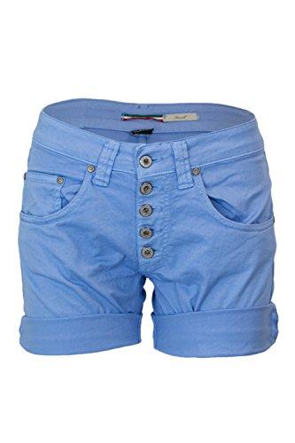 Please Damen Shorts P88 Farbe P88ADQ7M07 Gr. XX-Small, blau