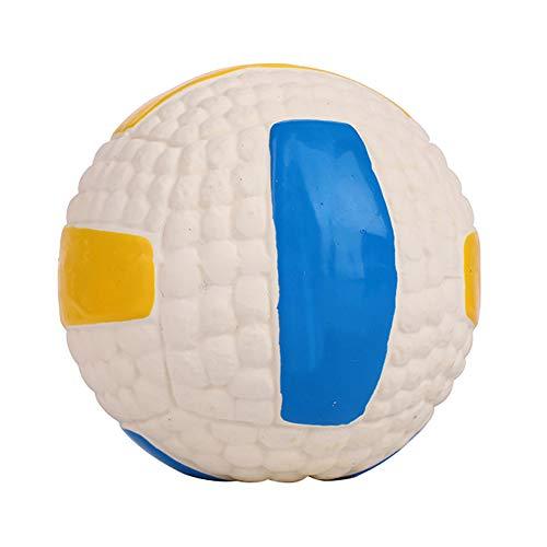 RIsxffp Ftbol Voleibol Tenis Rugby Perro Mordida Resistente Mascota Sonido Pelota Entrenamiento Juguete 2#