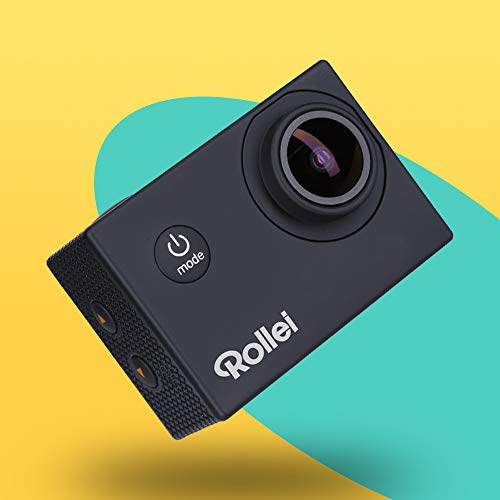 Rollei Actioncam Fun - WiFi Actionkamera mit 4k Video-Auflösung und Weitwinkelobjektiv, 2
