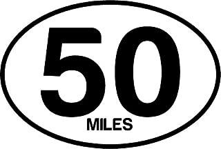 Best 50 mile sticker Reviews