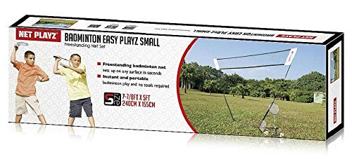 Netplayz Badminton-Set Junior 240 x 155 cm Stahl/Nylon 9-teilig