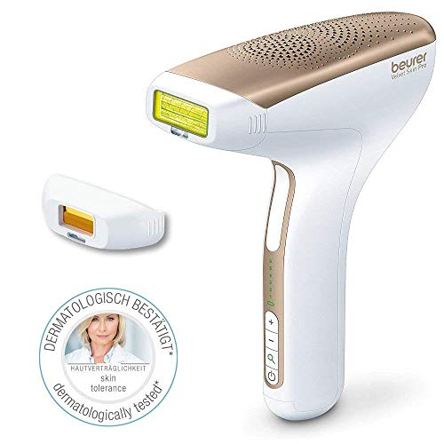 Épilateur à lumière pulsée IPL Velvet Skin Pro de Beurer | Épilateur professionnel haut de gamme | Jusqu'à 300 000 impulsions | Épilation pour corps et visage | Unisexe, parfait pour homme et femme