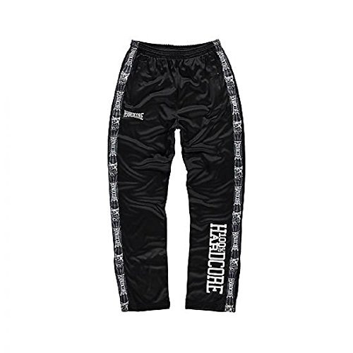 100% Hardcore Trainings Pants Logo - Schwarz - M