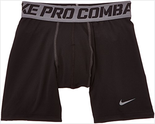 NIKE Jungen Shorts Pro Core Compression, Black/Cool Grey, M