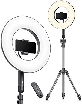 TaoTronics 14 Inch Selfie Ring Light with Tripod Stand