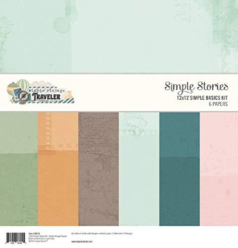 Simple Stories - Kit de manualidades (tamaño grande), multicolor