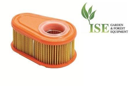 Ise® Ersatz-Luftfilter für Briggs & Stratton B&S DOV Motoren, ersetzt Teilenummer: 792038