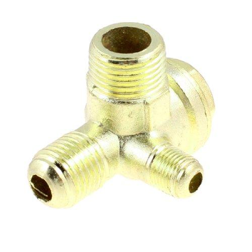 0,32 cm 0,64 cm 0,95 cm buitendraad Air Compressor terugslagklep messing goudkleurig