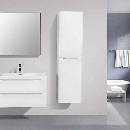 STANO Grande Armoire de Rangement Piacenza Hauteur 150 cm Blanc laqué