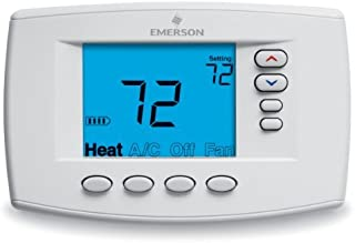 Emerson 1F95EZ-0671 Easy-Reader Universal 7-Day Programmable Thermostat by Emerson Thermostats
