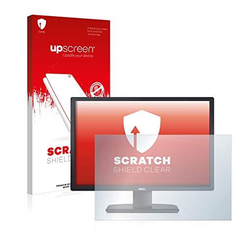 upscreen Protector Pantalla Compatible con DELL U2412M (s) Película Protectora – Transparente, Anti-Huellas