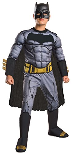 Rubie's Costume: Dawn of Justice Deluxe Muscle Chest Batman Costume, Small